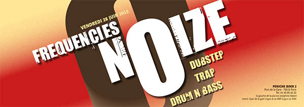FREQUENCIES NOIZE #4 w/THE FUNKTASTICS feat Dj SCIENCE, DINDE , MECENE, WILIX JUNKER , HIGHJO @ LE BOER2 / PARIS